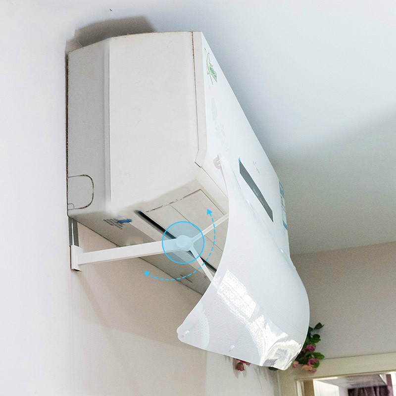 Air Conditioner Deflector Confinement Anti Direct Blowing Retractable Shield Cold Air Conditioner Cover Wind Baffle