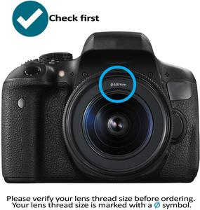 Image 2 - Filtr obiektywu aparatu DSLR UV ND FLD Star color 37 40.5 43 46 49 52 55 58 62 67 72 77 82 mm dla Nikon Canon Sony Fujifim Olympus