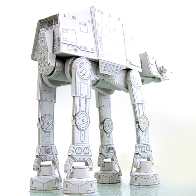 20cm Length All Terrain Armored Walker AT-AT 3D Paper Model Paper craft Toys