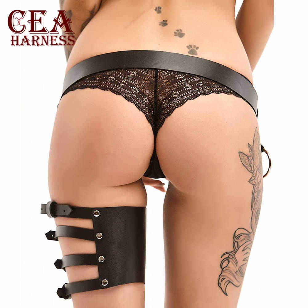 CEA. Sexy Dames Vrouwen Body Harnas Beha Fetish Borst Bondage Lingerie Erotische Kooi Gothic Jarretellegordel Bretels 5z