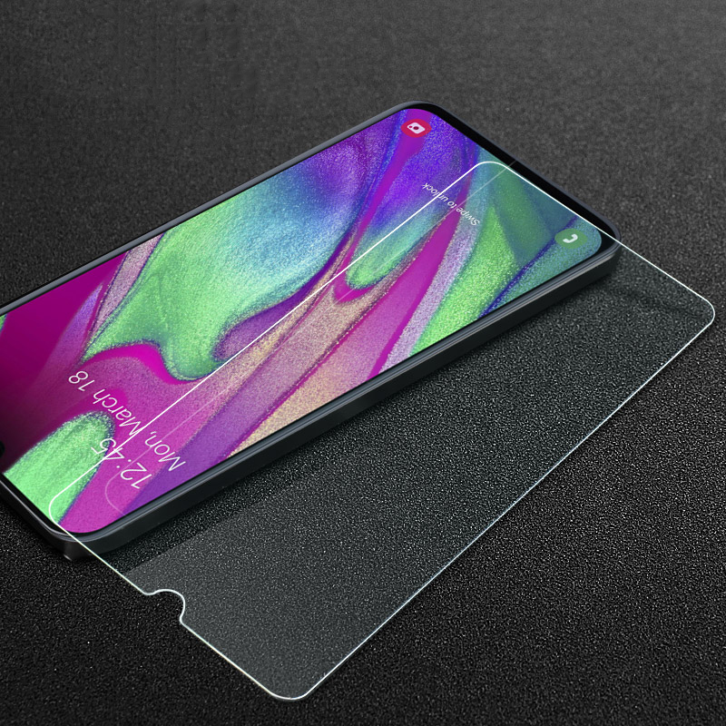 Image 2 - 3D Protective Glass For Samsung Galaxy A10 A20 A20E A30 A40 A40S A50 A60 A70 A80 A90 M10 M20 M30 2019 Screen Tempered Glass Film-in Phone Screen Protectors from Cellphones & Telecommunications