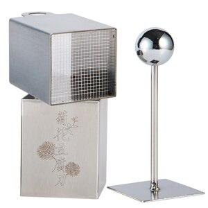 Image 3 - Chrysanthemum Tofu Flower maker press mold Stainless Steel Knife Tofu pressed DIY Cutting Mold  Kitchen Tools Kitchen Appliances