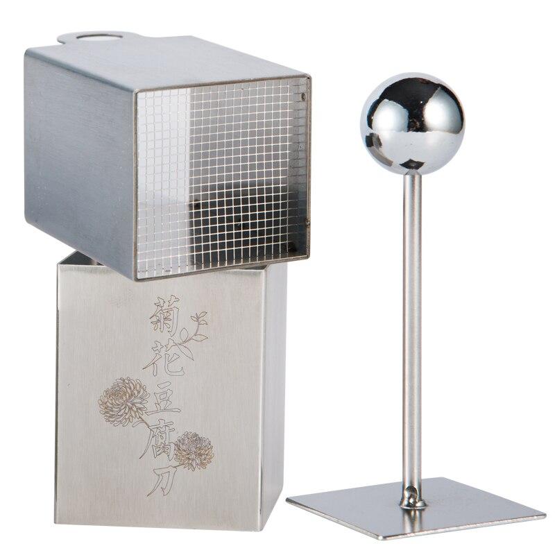 Image 3 - 국화 두부 꽃 제조기 프레스 금형 스테인레스 스틸 나이프 두부 누르면 DIY 커팅 금형 주방 도구 주방 가전주방 도구세트   -