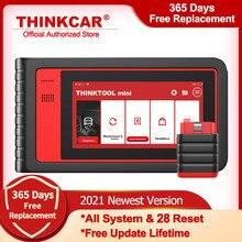 Thinkcar thinktool mini obd2 scanner profissional sistema completo ferramentas de diagnóstico do carro abs óleo redefinir scanner automotivo atualização gratuita