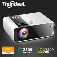 ThundeaL HD мини-проектор TD90 встроенный 1280x720 P светодиодный Android WiFi проектор видео домашний кинотеатр 3D HDMI Видеопроектор