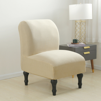 Accent Chair Cover Slipper Dining Seat Chair Slipcover Spandex Slipper Chair Removable Armless Slipper Chair Hotel Cover D30 1