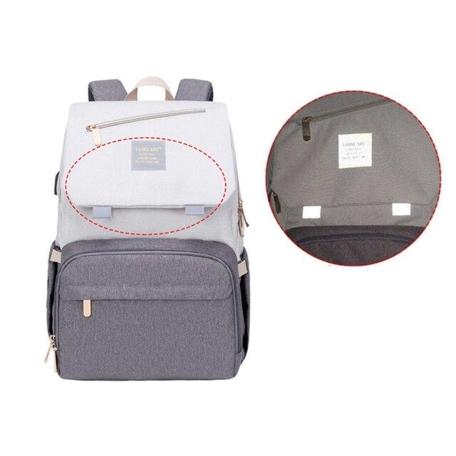 сумка для подгузников мам вместительный рюкзак ухода за ребенком фотография