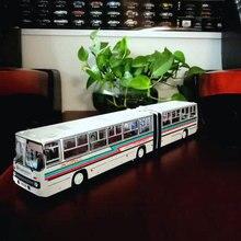 1:43 русский автобус IKarus-280.33m Icarus Двойная модель автобуса, модель автомобиля, подарок, ограниченная серия