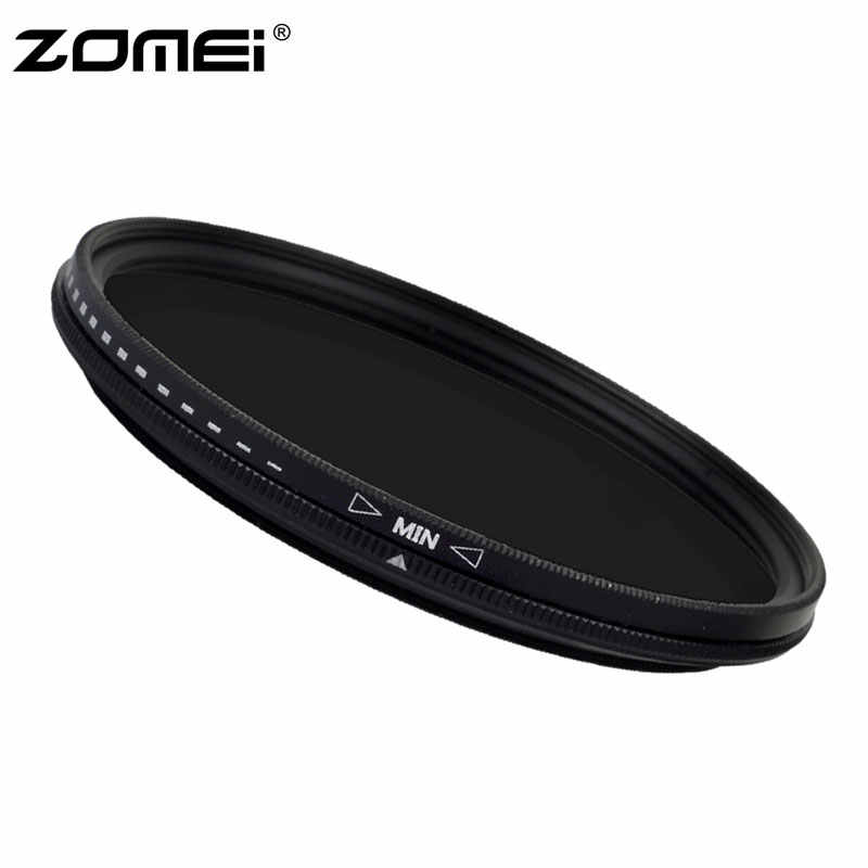 ZoMei 40.5mm Ultra Slim ND2-ND400 Fader Variable Neutral Density Adjustable Lens Filter Optical Glass ND Filter
