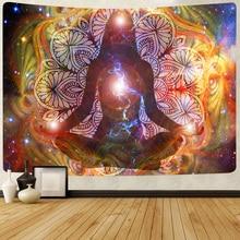 Tapestry Mandala Banner Meditation Chakra-Art Home-Decor Bohemian Wall-Hanging Living-Room