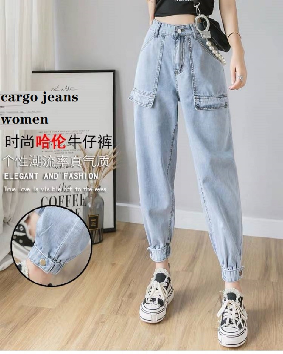 Fantasy-lilac Ripped Straight Leg Jeans Button Fly Mid Waist Casual Jeans Spring Denim Women Trousers