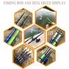GHOTDA Telescopic Rock Fishing Rod Fishing Rods cb5feb1b7314637725a2e7: Blue Green