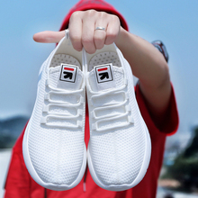 Men's Shoes 2019 Autumn New Casual White Running Shoes Breat