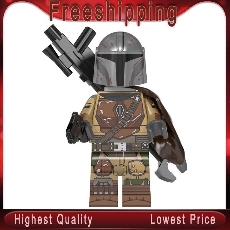 WM899 The Mandalorian Rises Of Skywalkerman Stars Wars Legoinglys MinifigurINED Siths Troopers Building Blocks Bricks Kits Toys