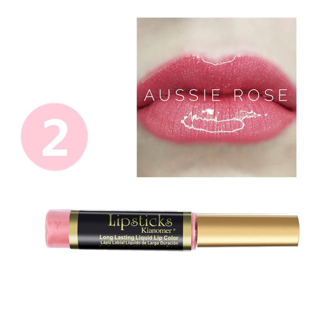 10 Colors Mirror Shimmer Lipstick Moisturizing Waterproof Long-Lasting Non-stick Cup Lip Gloss Hydrating Lip Glaze 2
