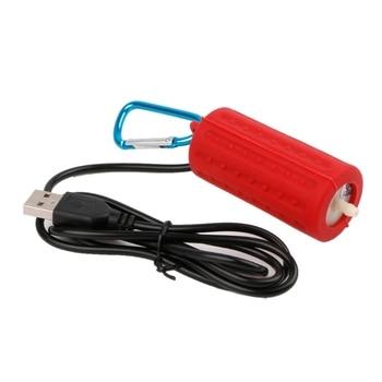 Portable Mini USB Aquarium Fish Tank Oxygen Air Pump Mute Energy Save Compressor H7ED aquarium pump outdoor lithium battery portable oxygen pump aerator compressor ornamental fish air compressor 110v 240v 4w