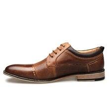 Мужские Кожаные классические туфли для отдыха рабочая обувь