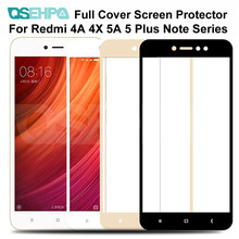 9D Tempered Glass on the For Xiaomi Redmi Note 4 4X 5 5A Pro Screen Protector For Redmi 5 Plus 5A S2 4X Protective Glass Film