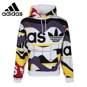Oryginalny nowy nabytek Adidas Originals katalog AOP HDY męska bluza z kapturem odzież sportowa
