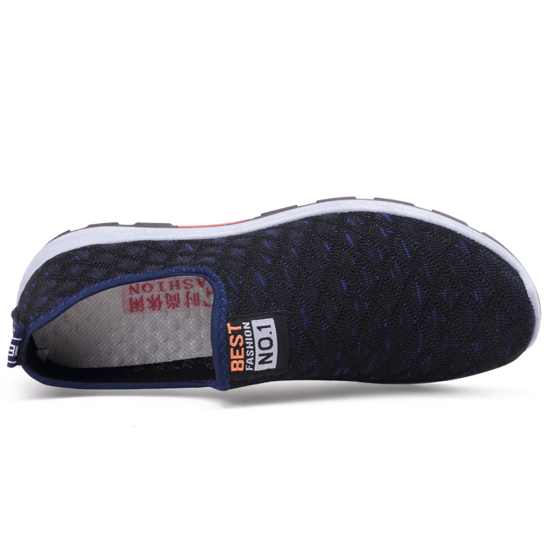 Summer Mesh Men Casual Shoes Breathable Slip on Mens Loafers Lightweight Sneakers Men Non-slip Walking Shoes Zapatillas Hombre 5