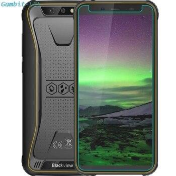 Перейти на Алиэкспресс и купить Закаленное стекло для Blackview BV5500/Pro 5,5 дюймпротектор экрана 9H 2.5D Защитная пленка для телефона BV5500Pro крышка