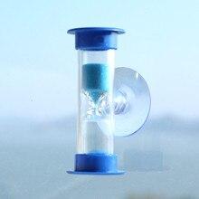 1 шт. 3 мин Мини Песочные часы для душа таймер/зубная Чистка таймер с присоской украшение дома аксессуары песочные часы