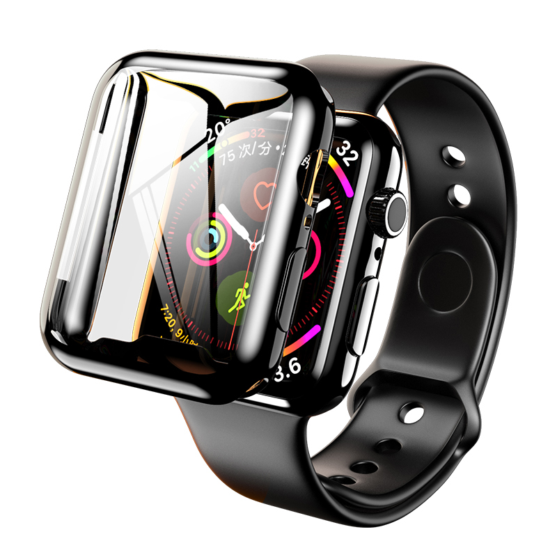 Screen Protective Cover For Apple Watch 5/4/3/2 Case Iwatch Apple Watch Band 44mm 40mm 42mm 38mm Shockproof Shell Accessories