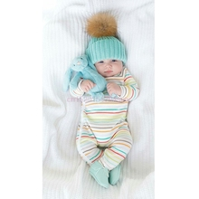 цена на New Cute Baby Toddler Kids Boys Girls Knitted Crochet Beanie Winter Warm Hat Cap #H055#