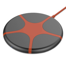 QI creative five-pointed star desktop mobile phone wireless charger transmitter 10w fast charge FOR: iphone Samsung