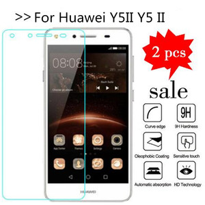 2PCS Glass For Huawei Y5II Y5