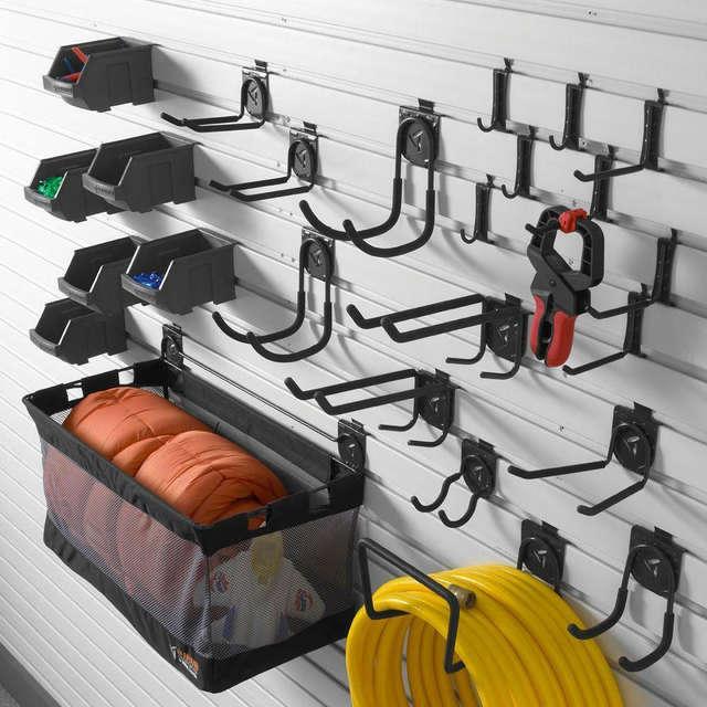 Heavy Duty Steel Garden Tools Storage Organizer Holder Garage