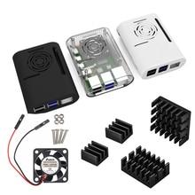 Raspberry pi 4 Case with Cooling fan Heatsink aluminum Heat sink for Raspberry pi 4