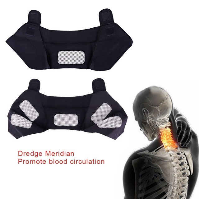 Tourmaline Self-heating Unisex Heat Therapy Pad Shoulder Protector Support Body Muscle Pain Relief Health Care Heating Belt 2