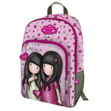 Backpack 3 zippers Gorjuss sparkle & bloom you can have mine 290*450*170 802gj10