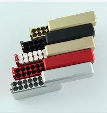 Portasigarette elettronico 18 bastoncini scatola di sigarette in metallo per portasigarette Iqos 3.0 Duo / 2.4 Plus