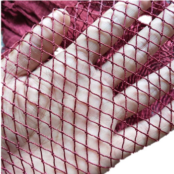 Semi-finished fish net trawl net Accessories Barrage net tool Breeding network Home and  icrop solation network fishing gear