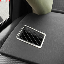 BJMYCYY for Toyota Avalon 2019 2PCS Stainless Steel Decorative Frame Outlet of Automobile Car Accessories