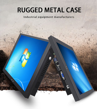 Perfect design 17 inch capacitive touch panel pc industrial grade pc