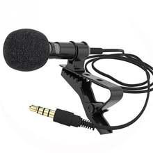1 компл Микрофон с зажимом на воротнике галстук мобильный телефон