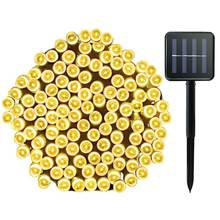 Водонепроницаемая светодиодная лента на солнечной батарее 8