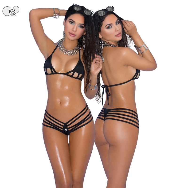 Sexy See Through Mesh Exotic Micro Bikini Mini Extreme Thong Bathing Suit String Bandage Swimwear Beach Sunbath Swimsuit Costume