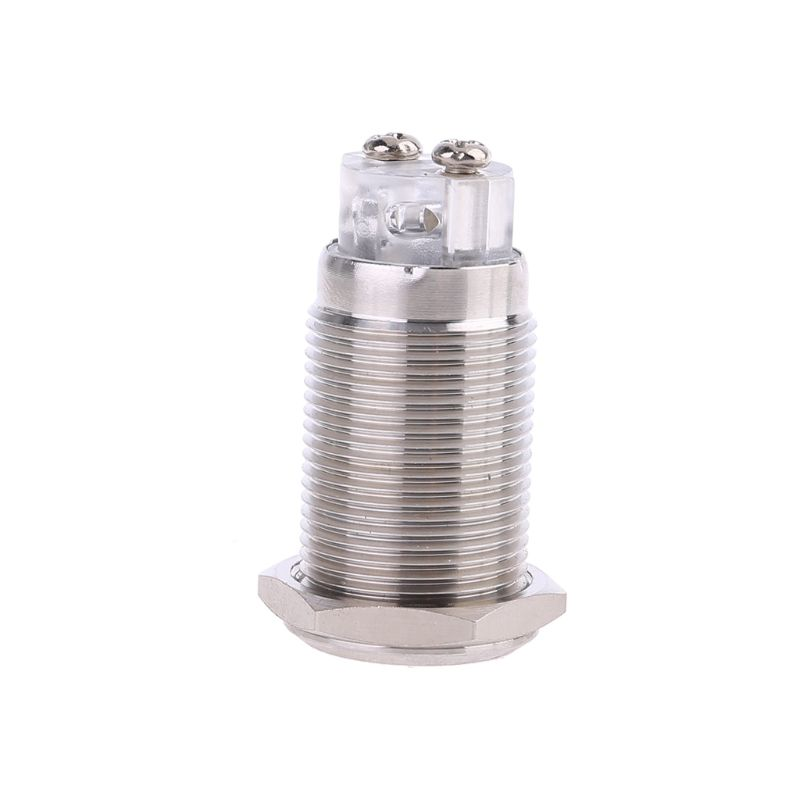 16mm 12V Buzzer Alarm Light Warning Lamp Signal Rotary Flash Strobe Sound Siren