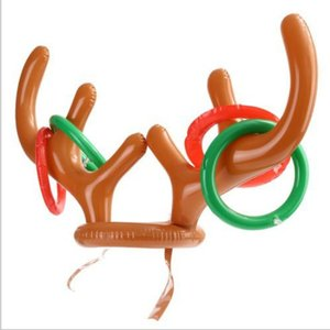 Inflatable Antler Headband Toy