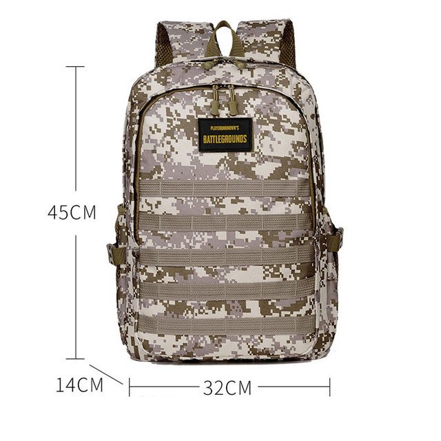 Jedi Survival Three-level Backpack Waterproof Climbing Bag Student Computer Package Camouflage Schoolbag 4