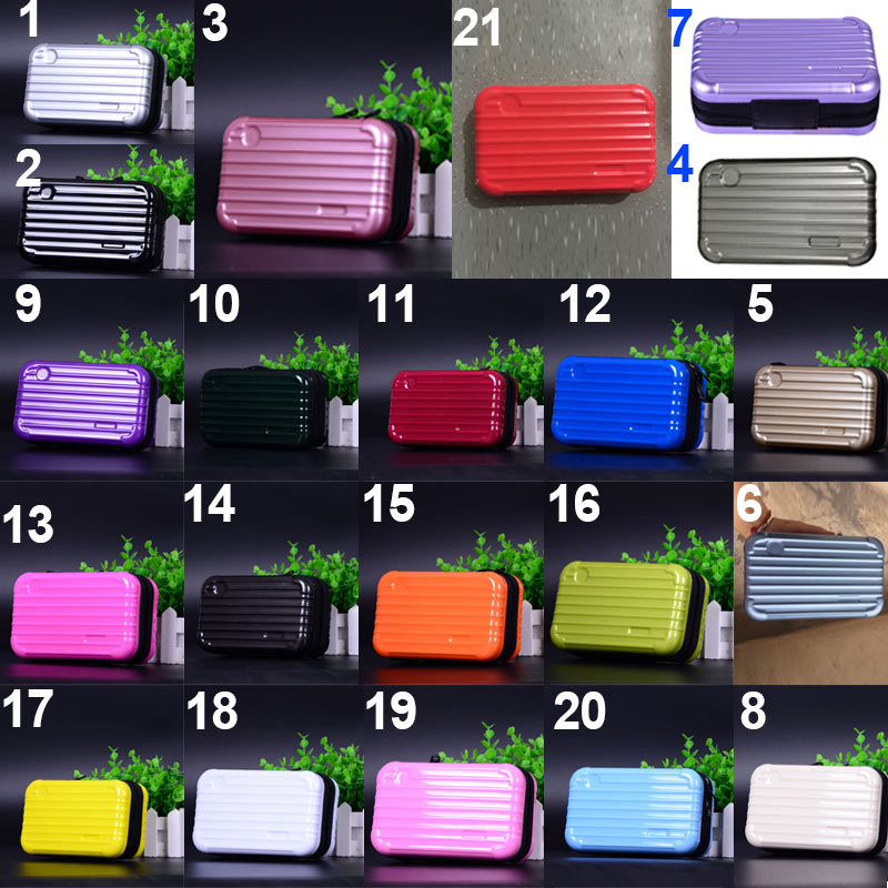 Droppshiping Luggage Design Travel Cosmetic Bags Makeup Organizer Case Brushes Lipstick Toiletry Storage Box J55