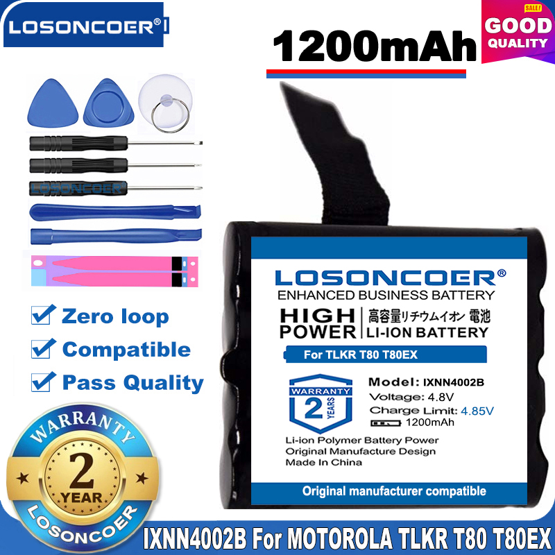 US $14.35 8% OFF Top Brand Pro IXNN4002B Battery for MOTOROLA TLKR T80 T80Ex XTR446 XTB446 XT180 XTK446 TLKR T61 T81 T5 T6 T7 T8 T50 T60 Radio Digital