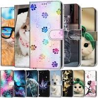 Funda de cuero para Samsung Galaxy S5, S6, S7, S8, S9, S10, Note 10 Plus, S10E, billetera 3D, tarjetero, soporte para libro