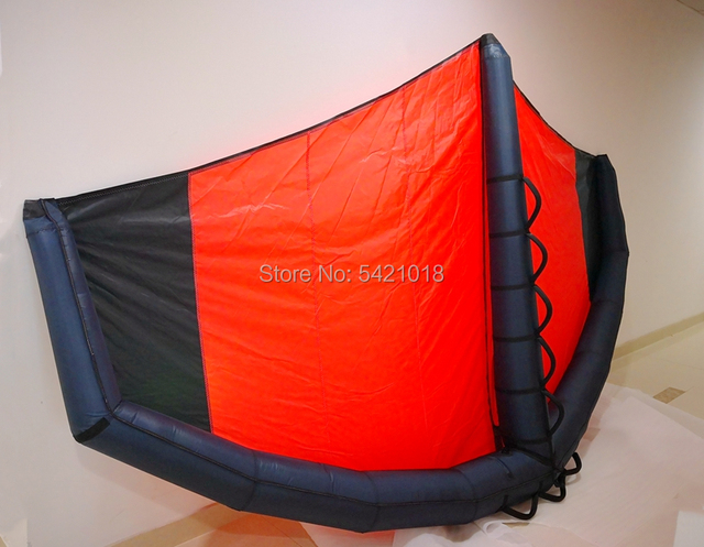 $ US $359.39 2020 New Wing Foil Windsurfing Inflatable Kite Foil Wing hydrofoil 3M 4M 5M