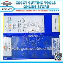 50pcs ZCC.CT Trigon Insert TCMT110208 HM YBD152 TCMT 110208 HM 초경 절삭 공구 인서트 TCMT110208 HM