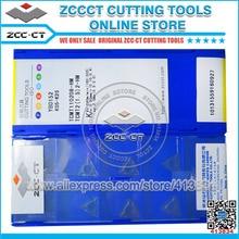 50pcs ZCC.CT Trigon ใส่ TCMT110208 HM YBD152 TCMT 110208 HM คาร์ไบด์ตัดเครื่องมือตัดแทรก TCMT110208 HM